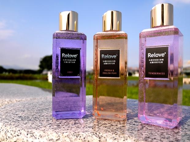 relove 手洗精 果凍瓶
