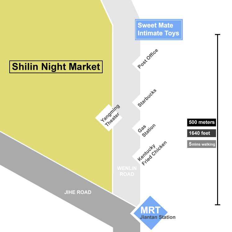 shilin adult toy shop map