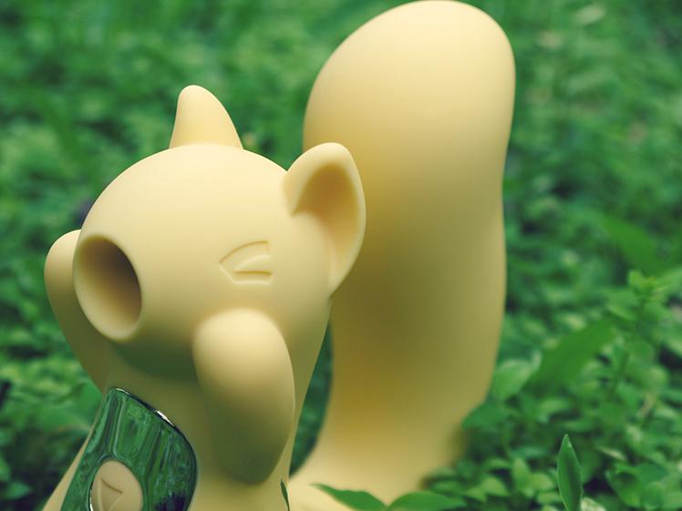 kiss toy 小松鼠 情趣 矽膠 親膚
