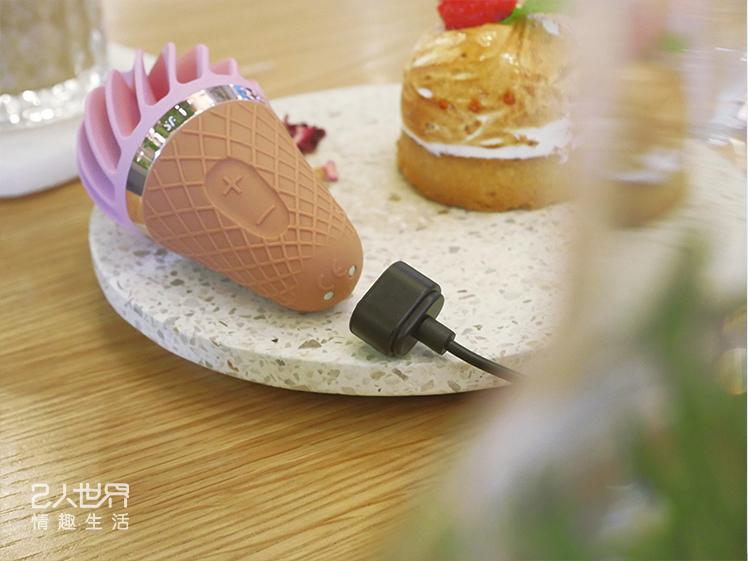 satisfyer 情趣小物 甜筒 充電 磁吸